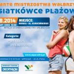 Plakat Siatkówka Dni Wałbrzycha
