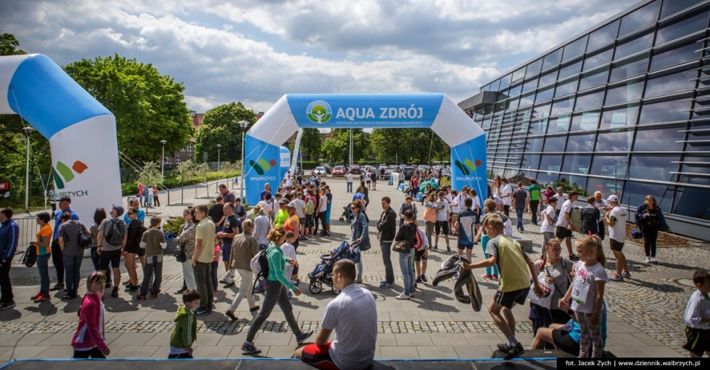 Polska Biega z Aqua Zdrojem